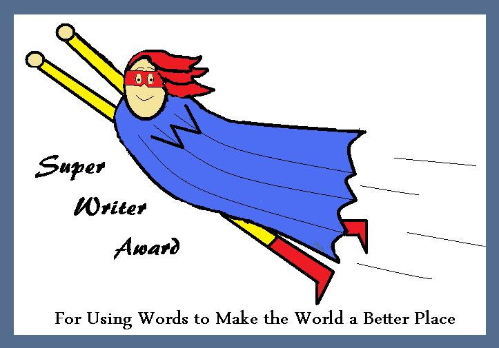 super handwriting award printable